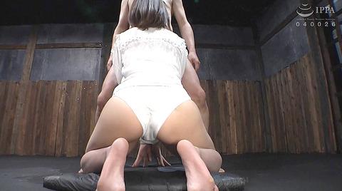強烈ビンタ 拷問イラマチオ SM調教される 七海ゆあ AV エロ画像 201