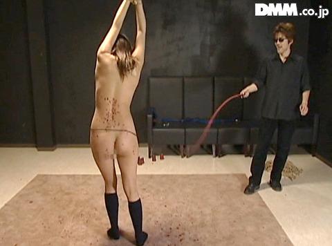 月神サラ SM調教 体に食い込む 残酷 一本鞭調教 一本鞭鞭打ち 21