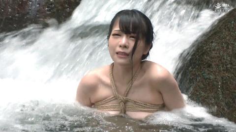 美らかのん 野外露出 野外SM調教 冷水水責めされる女 AVエロ画像 0