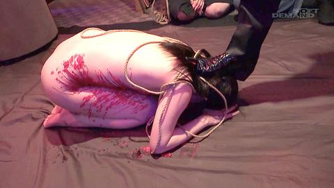 森苺莉 靴舐め M女 AV 土足で踏まれて 蹴られる女 の画像 i04
