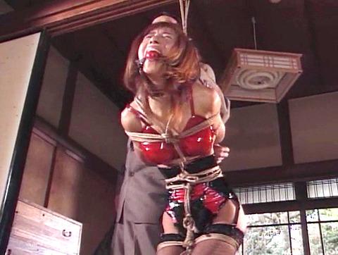 岡崎美女 屈辱の言いなり緊縛奴隷 SM調教 AV エロビデオ画像 15