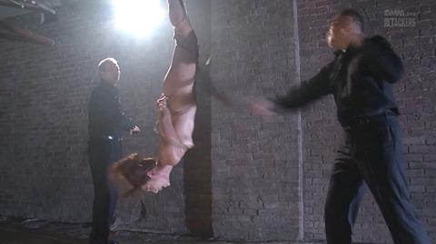 結城みさ 拷問ハードSM 残酷鞭打ち 拷問緊縛 逆さ吊り AVエロ画像 53