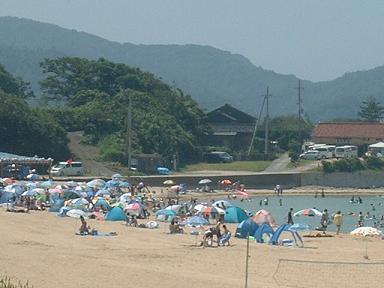 小天橋海水浴場1