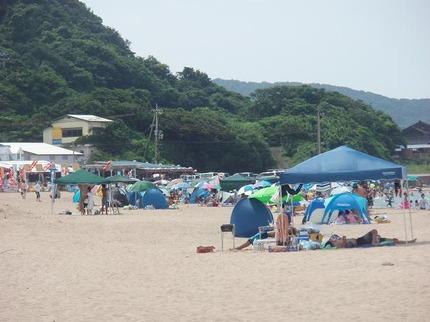 今日の小天橋海水浴場