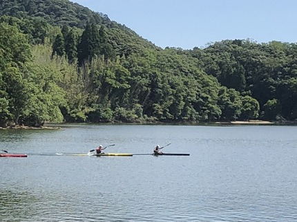 カヌー練習