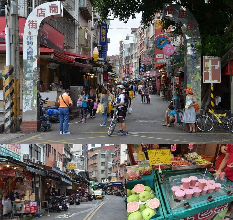 台湾のベニス「淡水」、レトロな問屋街「油化街」~台湾(台北)に行ってきました!⑪