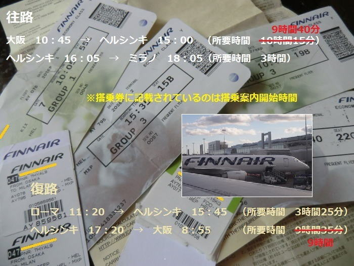 アジアとヨーロッパを最短、最速で結ぶ航空会社で行く~イタリアに行ってきました!①