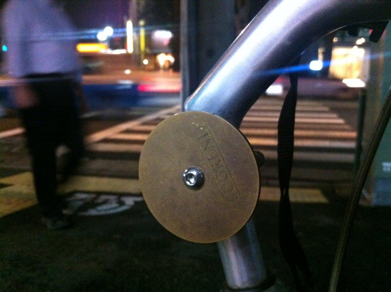 自転車屋 自転車屋さん ベル : よく見たら「SOGRENI」の文字が