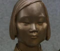 米首都近郊に慰安婦少女像が設置される