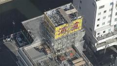 ビル屋上から長さ1.5メートルの鉄パイプ落下 直撃し20代男性重体 和歌山
