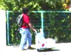 青葉真司容疑者、事件前に本社周辺も下見か ガソリン缶買う姿