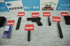 東名道あおり、器物損壊容疑で男逮捕 エアガンなど押収