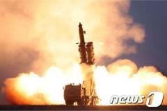 北朝鮮、元山付近から飛翔体2発発射 韓国合同参謀本部