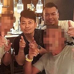 宮迫 前科3犯・半グレ金塊強奪犯と「ギャラ飲み」現場写真