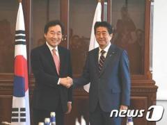 安倍首相、「即位礼正殿の儀」に来日予定の韓国首相と会談検討