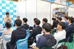 韓国の学生、日本企業に熱視線 釜山で説明会