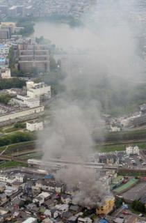「京アニ」火災 複数死亡20人不明 男を確保 京都・伏見