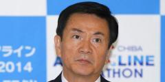 森田健作千葉県知事 台風最中に 「公用車で別荘」