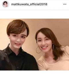 Matt 憧れの矢田亜希子と焼き肉ディナーで赤面「大好きぃぃ」