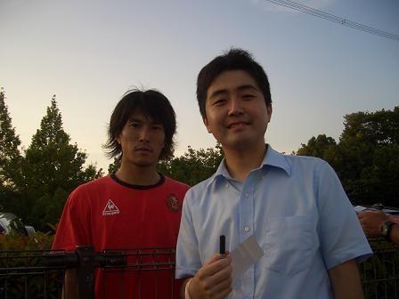 with小川佳純選手 - コピー