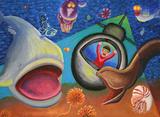 深海魚にびっくり!