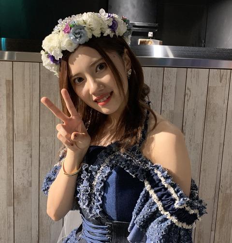 東海ラジオみつ吉、北川綾巴のいい肩出しshot  ナイスバッティング!