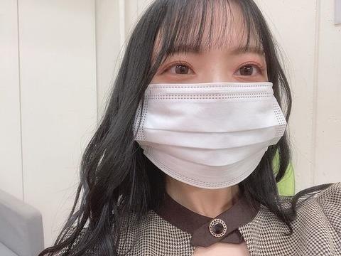 【SKE48】西満里奈、顔ちっちゃ!!!