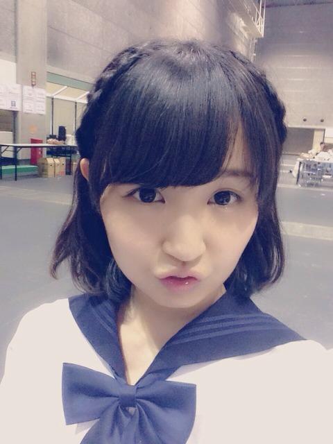 no title    ★SKE48★ 惣田紗莉渚の変顔に、阿比留李帆いちゃもんwwwwwww