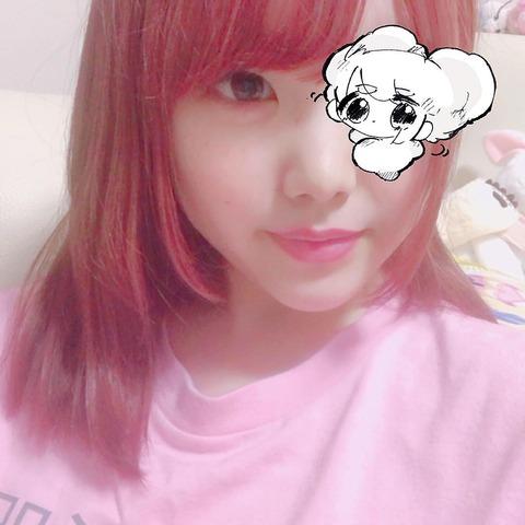 SKE48白雪希明が髪をピンクに染め「やっと自分らしさが出せた気がするよ」