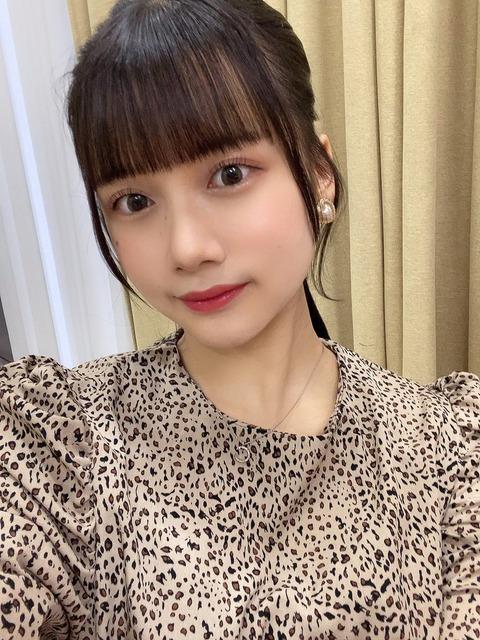 【SKE48】前髪もまつ毛もうまくいった、田辺美月!!!