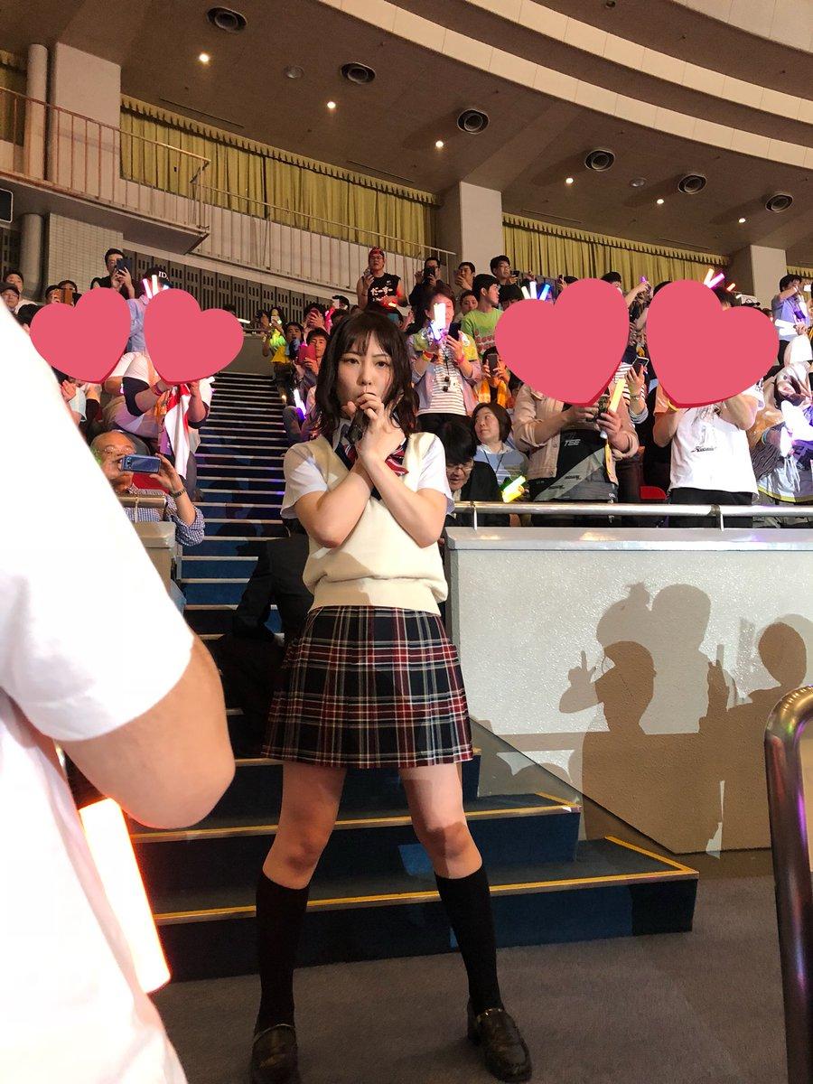 SKE48熊崎晴香が目の前で羨ましい!!!