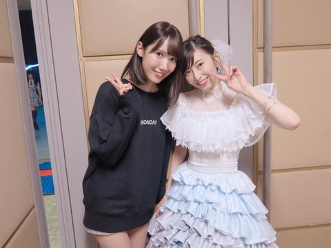 HKT48田中菜津美「真那さんの卒業コンサートにお邪魔させていただきました 今日も暖かく迎えてくださりSKEファンの皆様ありがとうございました」