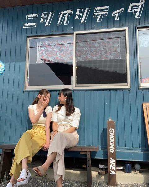 【元SKE】北川綾巴と折戸愛彩のカフェ巡り、今回は西尾「ニシオシティダイナー」へ