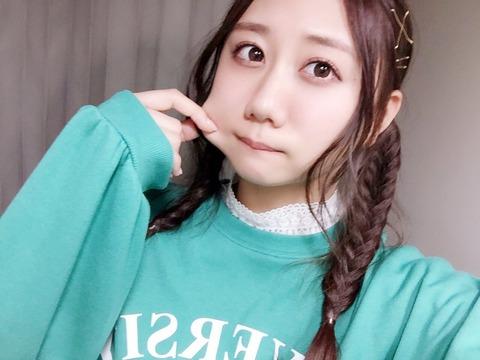SKE48古畑奈和「来てくれなきゃ  頬っぺた、ひっぱるよー嘘 」