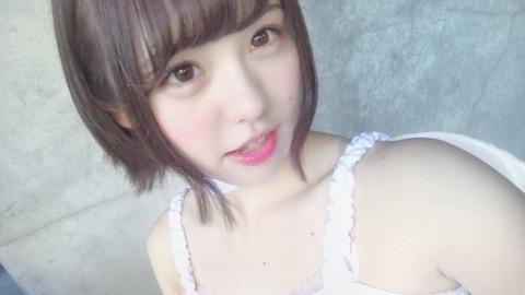 SKE48佐藤佳穂が天使の格好を! 「人を堕落させる天使だな」「これがエ○天か」