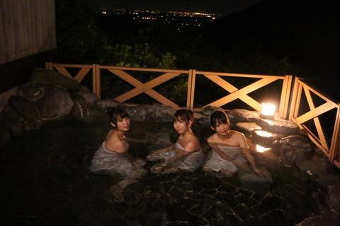 SKE48高柳明音、熊崎晴香、松村香織の入浴シーンあり!「観光列車で行く湯の山温泉 秋の女子旅」が放送!