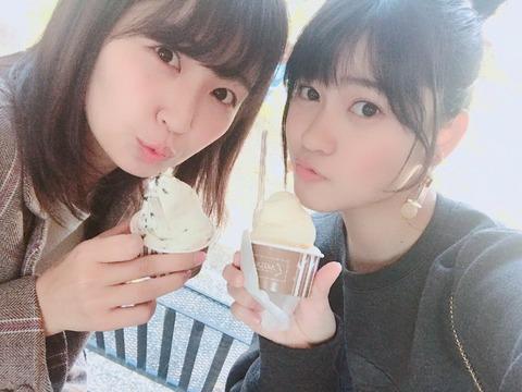 SKE48惣田紗莉渚と東李苑のコンビが最強すぎる!!!