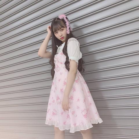【SKE48】末永桜花、お人形さんになる!