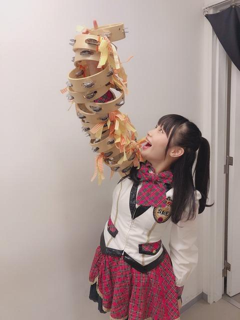 【SKE48】倉島杏実、念願のタンババ!!!