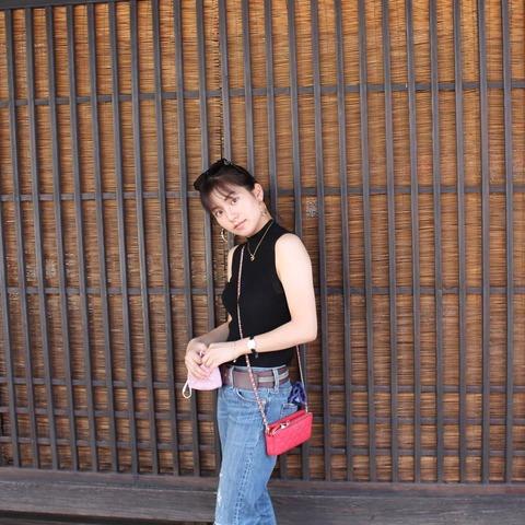 【元SKE】後藤楽々、いつもとは雰囲気の違う服着てみた。。。