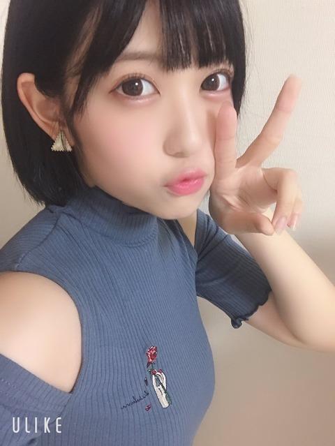 【SKE48】大芝りんかさん、ごめん…髪の毛よりお胸にしか目がいかない