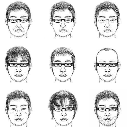 【画像】指名手配中の男の似顔絵、ヤバすぎるwwwwwwww(※画像あり) 2018/10/26(6
