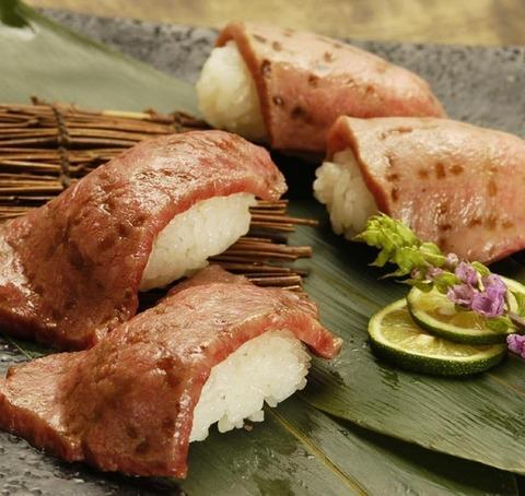 焼肉と寿司1