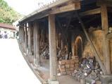登り窯も何箇所かあり、窯の中も見ることが出来た