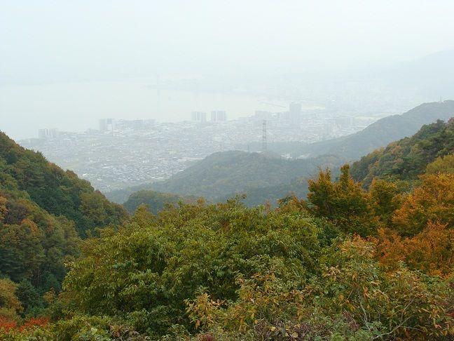 比叡山 夢見が丘からの琵琶湖