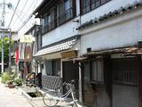 上土町は古い街並みが残っている