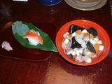 会津伝統の味「こづゆ」と「磐梯鱒の寿司」
