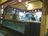 平家1階のオープンキッチン