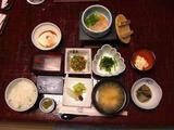朝食もシンプルで美味しく、ご飯は会津こしひかり