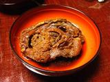 自慢の伝承の味は「鯉の甘煮」